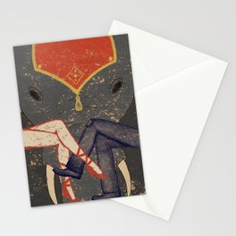 Circus Romance Stationery Cards