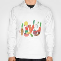 vegetables Hoodies featuring Vegetables Party. by Elga Libano