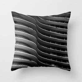 NIEMEYER   architect   Building Niemeyer Throw Pillow