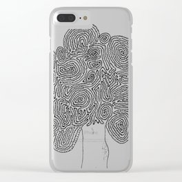 A Tortoise-Tree Clear iPhone Case