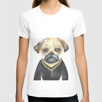 gangster T-shirts featuring Dog Gangster by Lucie Sperry