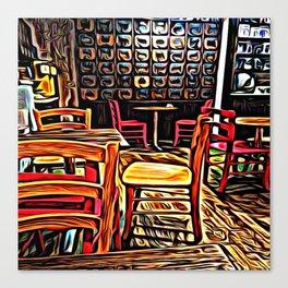 Creativity Cafe Canvas Print