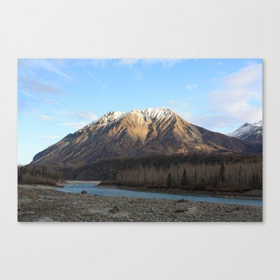 Blue Creek, Alaska Canvas Print