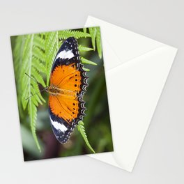 Orange Butterfly Stationery Cards