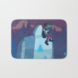 Robokid in the Forest Bath Mat