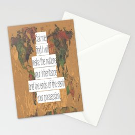 Ask me Stationery Cards