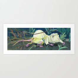 Moonrat Art Print