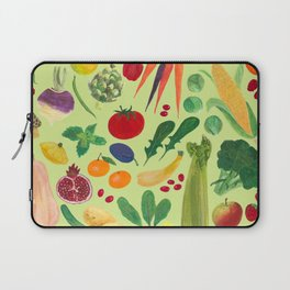Fruits and Veggies Laptop Sleeve