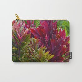 Hawaiian Flowers Carry-All Pouch