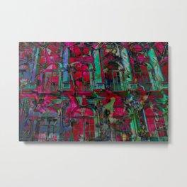 Psychedelic windows Metal Print