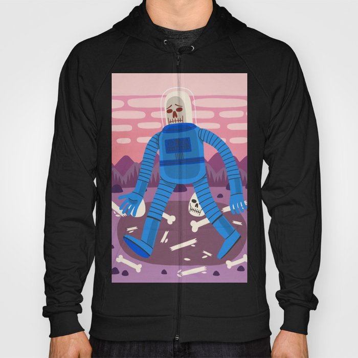 Sad Spaceman Hoody