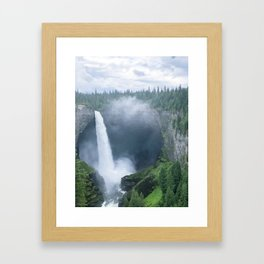 Chasing Waterfalls -- Helmcken Falls Framed Art Print
