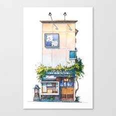Tokyo storefront #10 Canvas Print