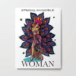 Exotic feminist Metal Print