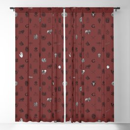 House of the Brave - Pattern II Blackout Curtain