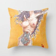 Mother fish ? Throw Pillow