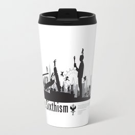 One Sixth Ism (Black World) Travel Mug