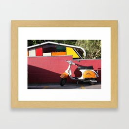 Race You Framed Art Print