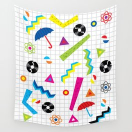 Breaking Atoms Wall Tapestry