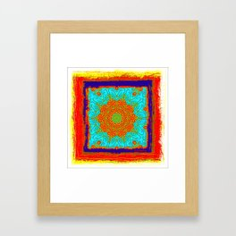Rustica Mandala (5) Framed Art Print
