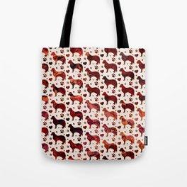 Cavalier King Charles pattern Tote Bag