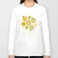 sunshine Long Sleeve T-shirts featuring Sunshine by Shelly Bremmer
