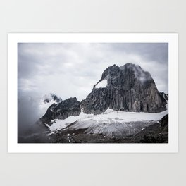 Snowpatch spire Art Print