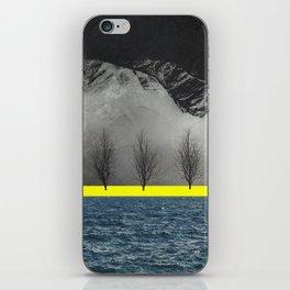 Between Mountain and Sea iPhone Skin