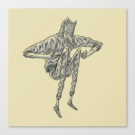 Wolf Tribe Canvas Print