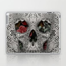 Lace Skull 2 Laptop & iPad Skin