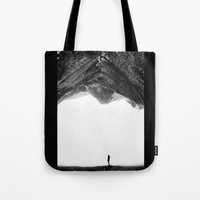 lost Tote Bags featuring Lost in isolation by Stoian Hitrov - Sto