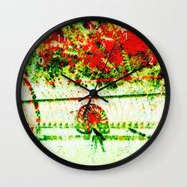 Tedder hit the Hay Wall Clock