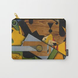 Still Life with a Guitar Carry-All Pouch