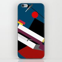 kandinsky iPhone & iPod Skins featuring STARSHIP by THE USUAL DESIGNERS