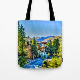 Vail Colorado Photo Tote Bag