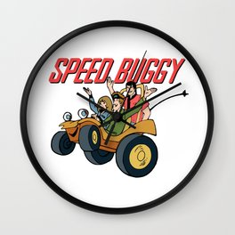 Speed Buggy Wall Clock