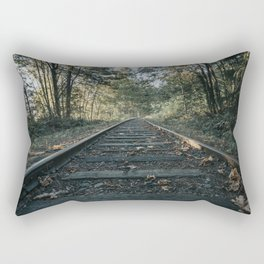 Shawnigan Tracks Rectangular Pillow