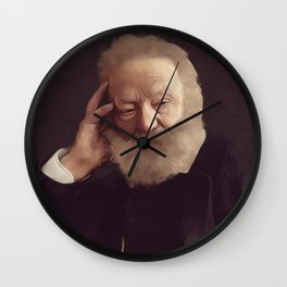 Victor Hugo, Literary Legend Wall Clock