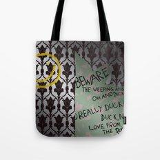 221 Beware Tote Bag
