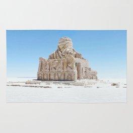 Dakar Rally Bolivia monument Rug