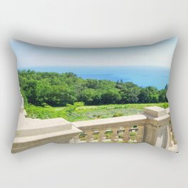 view from the castle balcony Rectangular Pillow