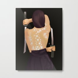 Samurai Metal Print