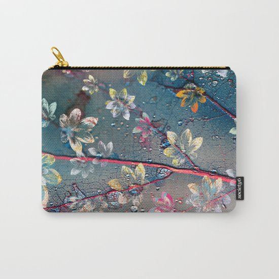 Floral abstract(34). Carry-All Pouch