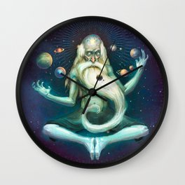 Mindfulness Wall Clock