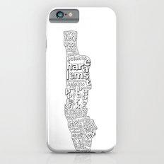 New York City Neighborhoods Slim Case iPhone 6s