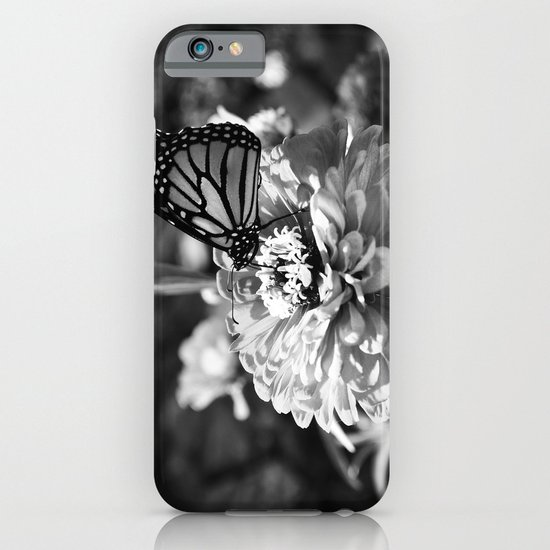 Butterfly on Flower iPhone & iPod Case