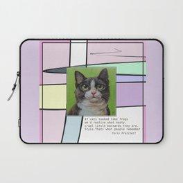 Cat Quote Laptop Sleeve