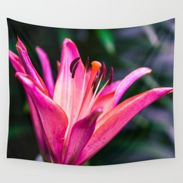 Michigan Lily Wall Tapestry