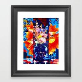 PRIMAVERA STUDY 109 (SPRING FLOWERS) Framed Art Print