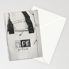 NPR bitch Stationery Cards